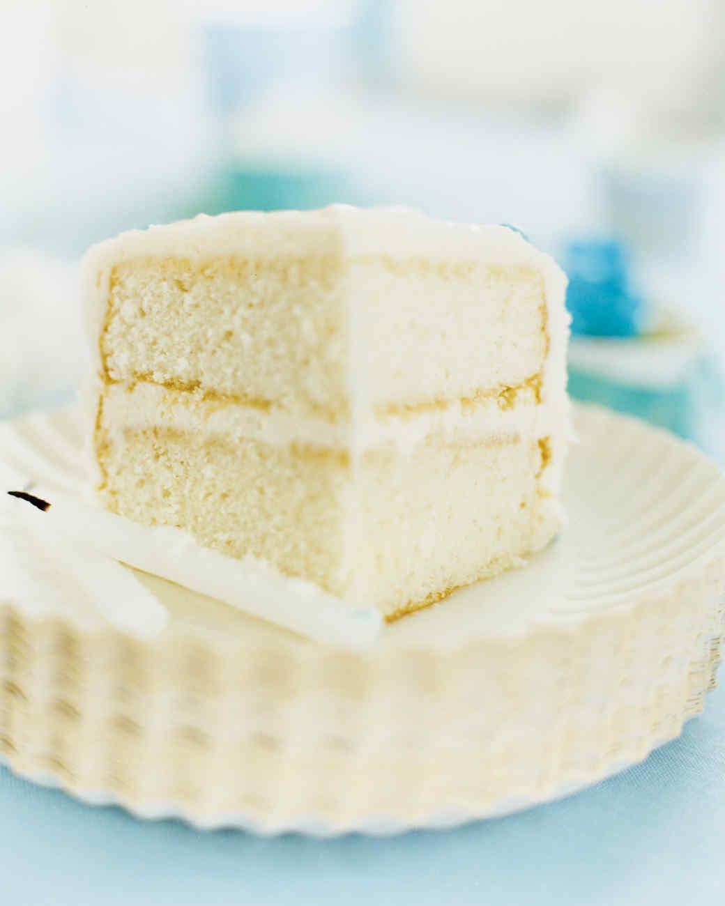Basic White Cake Recipe No Butter