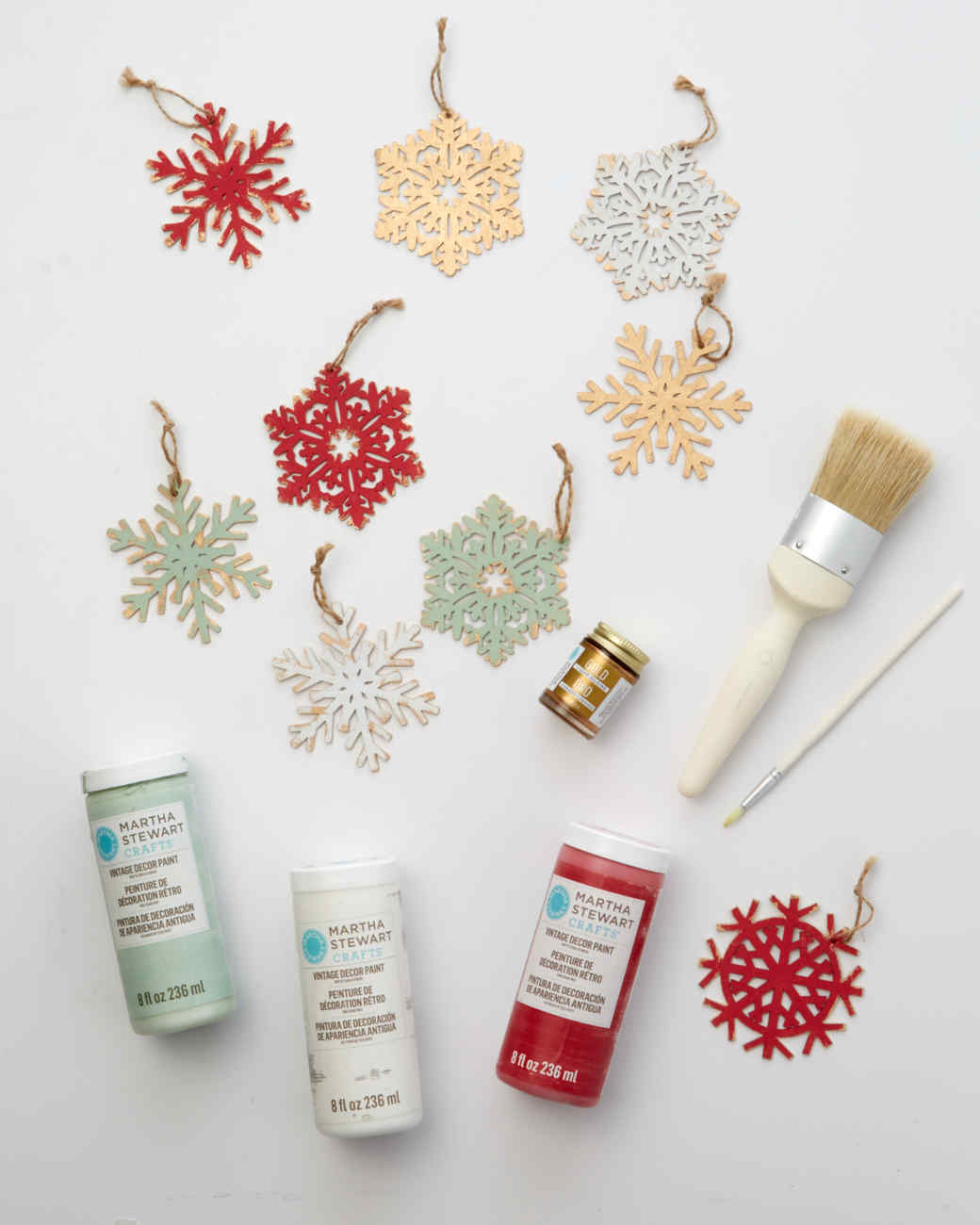 Christmas snowflake ornaments - Christmas Snowflake Ornaments 39