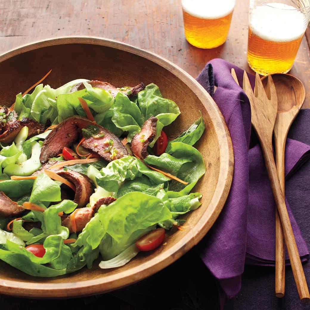 Thai Beef Salad With Fresh Herbs