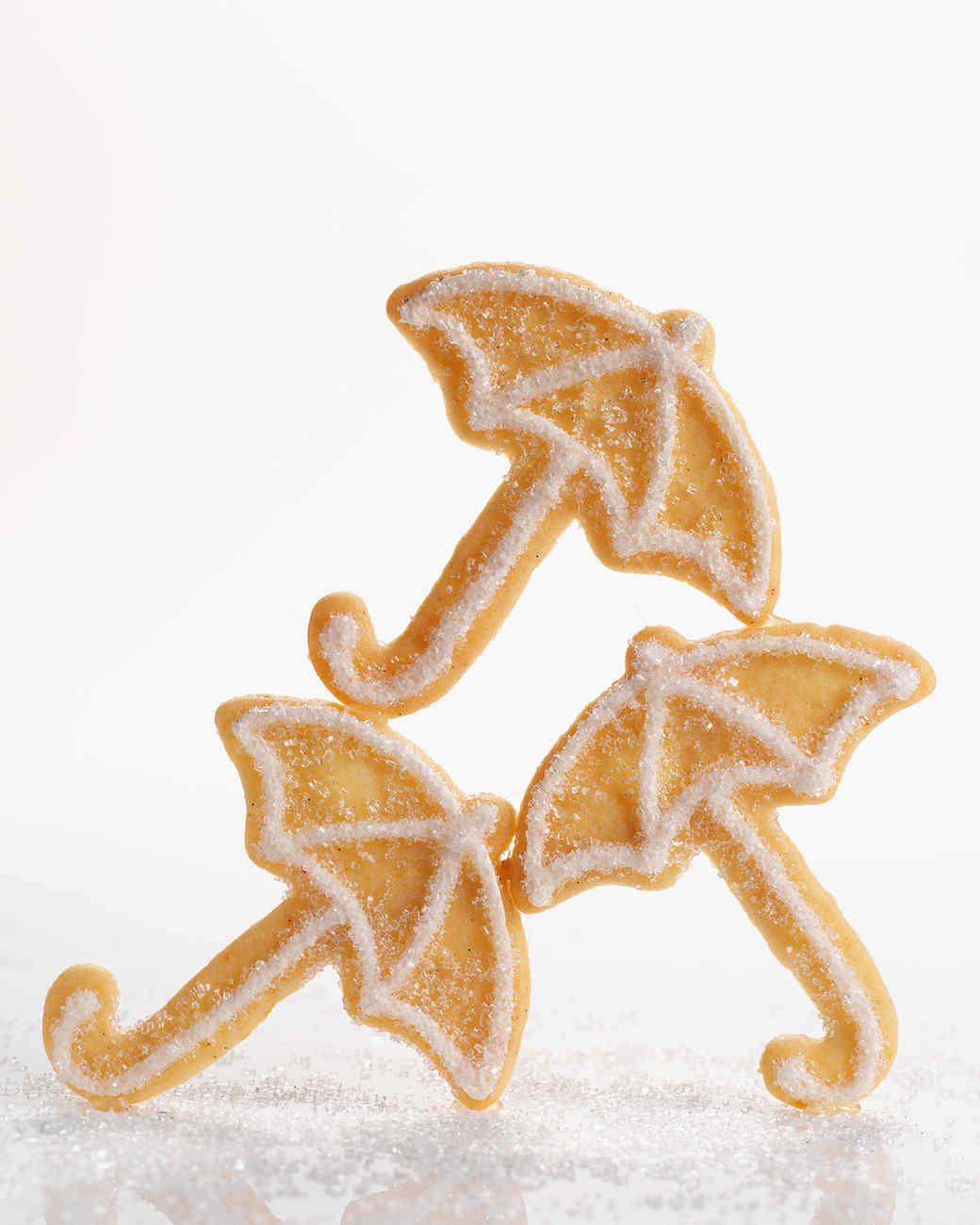 Umbrella Sugar Cookies