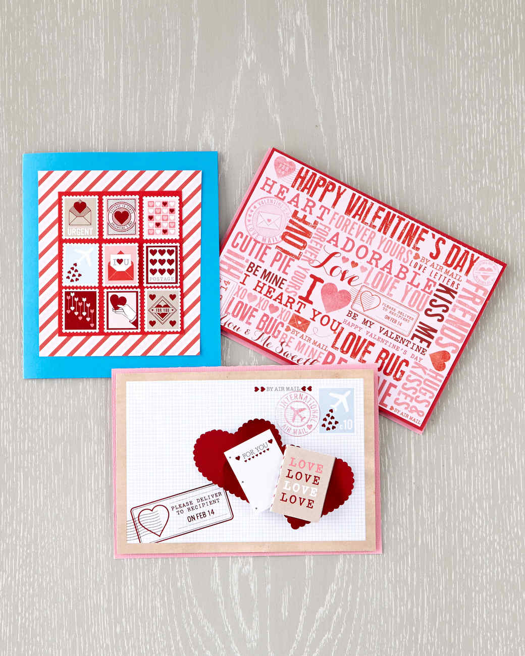 Handcrafted Valentines Day Cards – Martha Stewart Valentines Day Cards