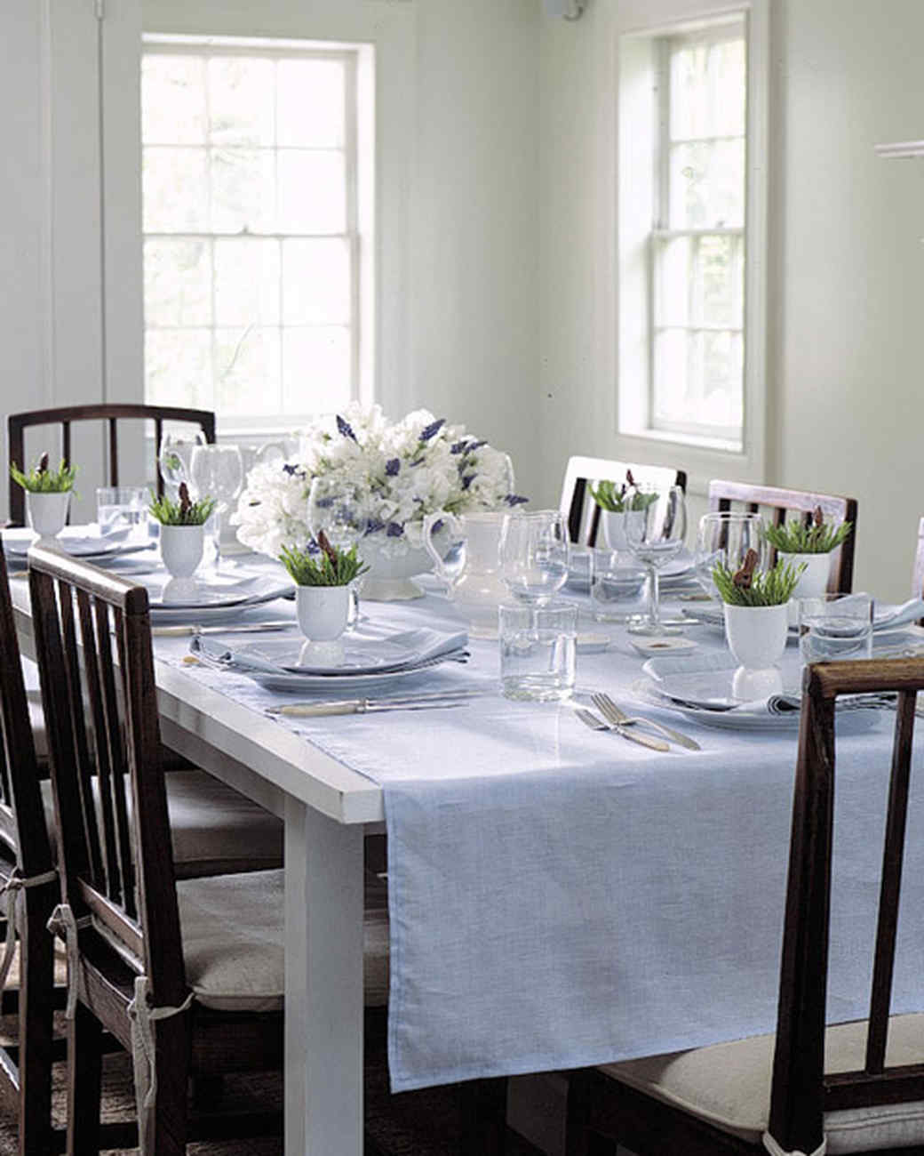 Easter And Spring Centerpieces Martha Stewart - Martha stewart dining room table