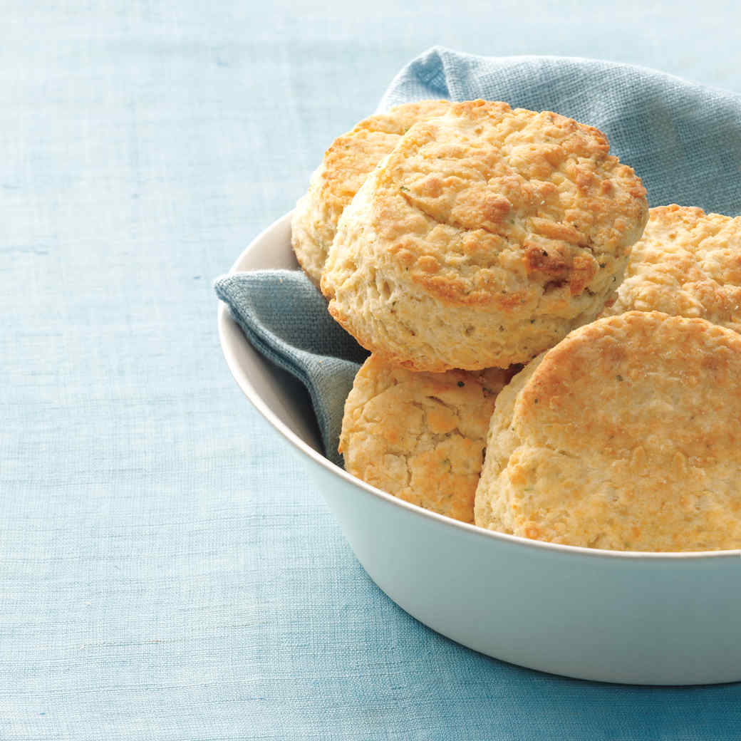 Cheese-and-Chive Biscuits