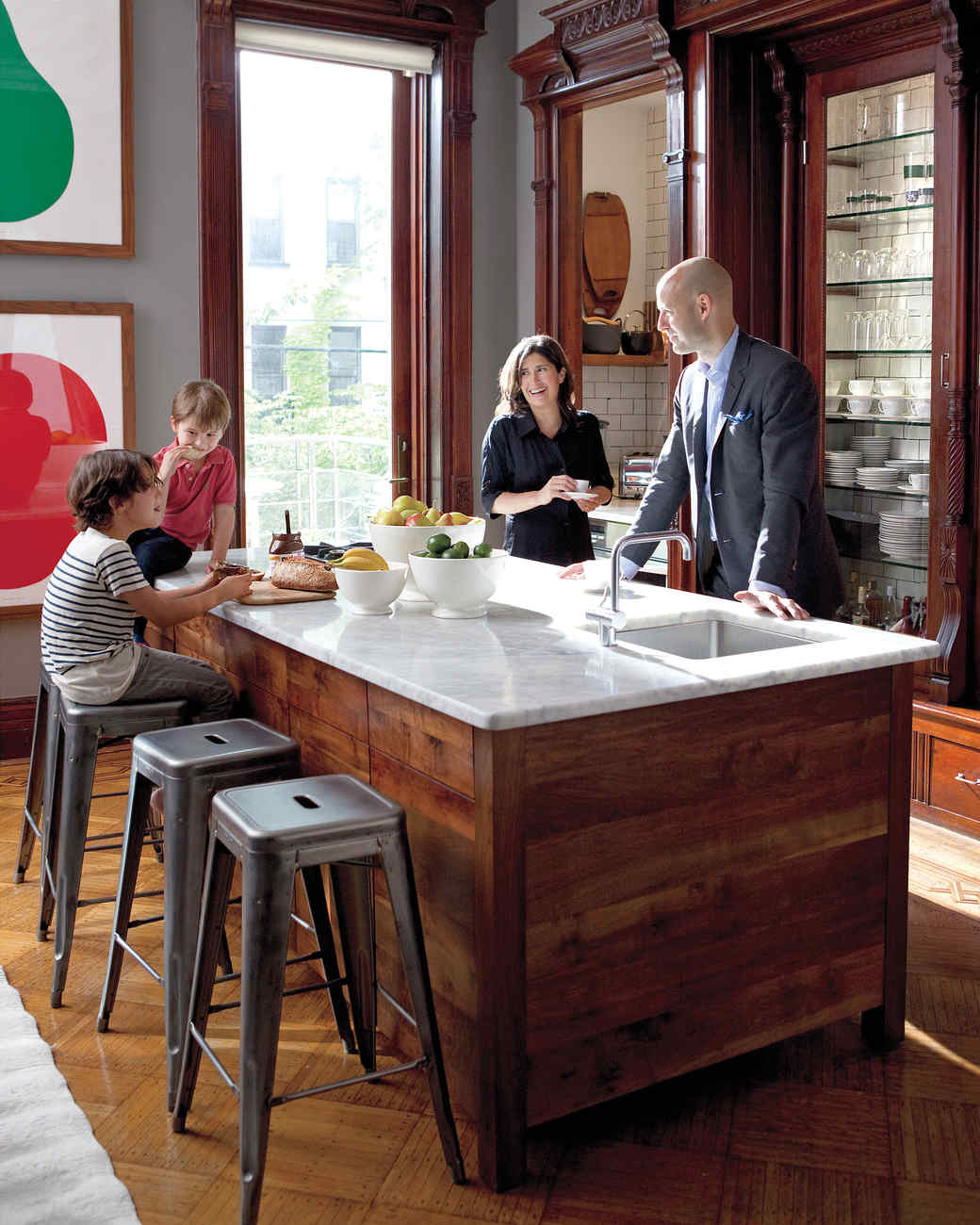 home tour a family oriented brownstone in brooklyn martha stewart