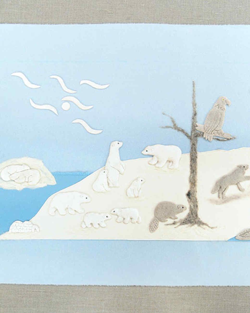 Arctic Tapestry Amp Video Martha Stewart