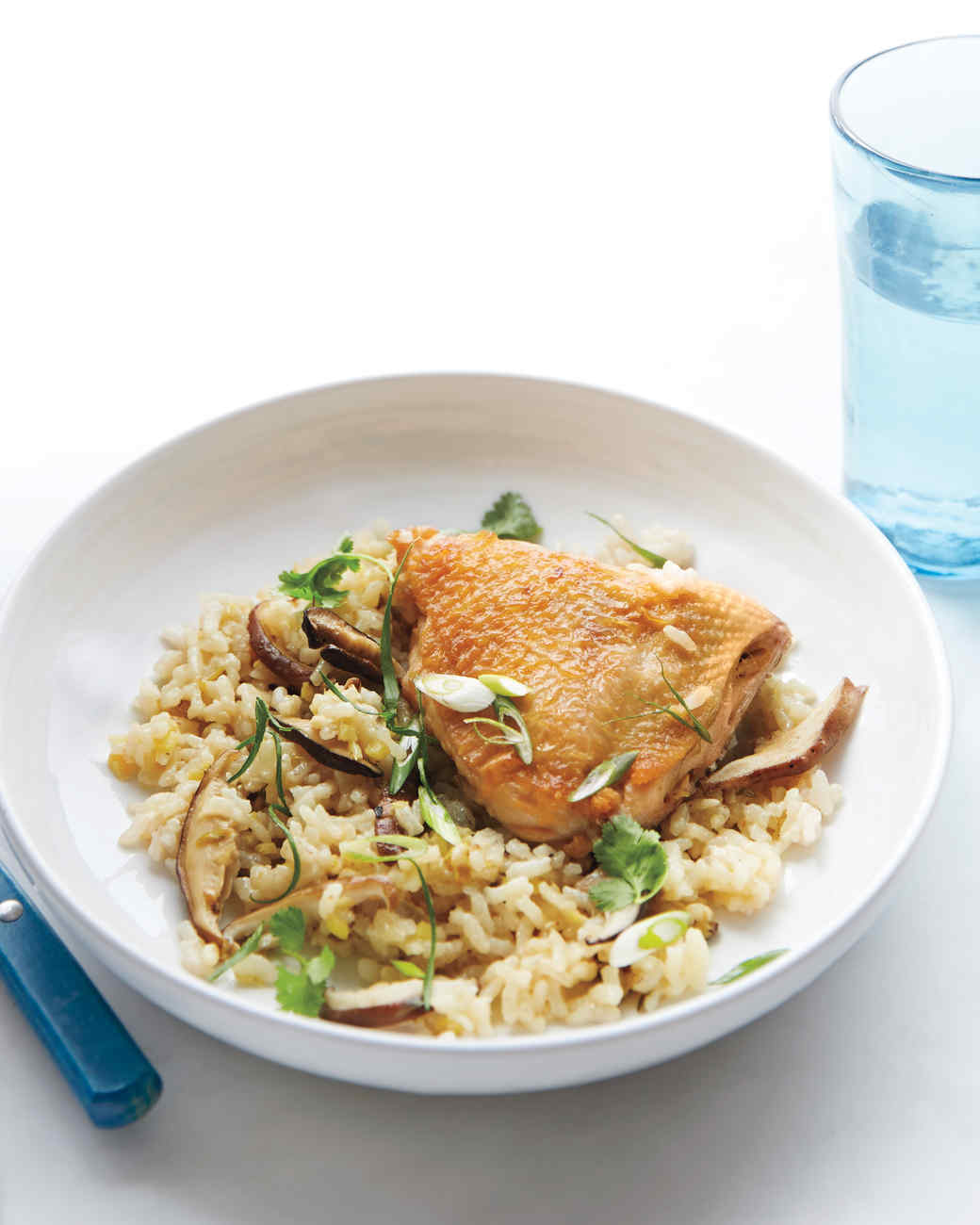 Asian-Style Chicken And Rice Recipe & Video