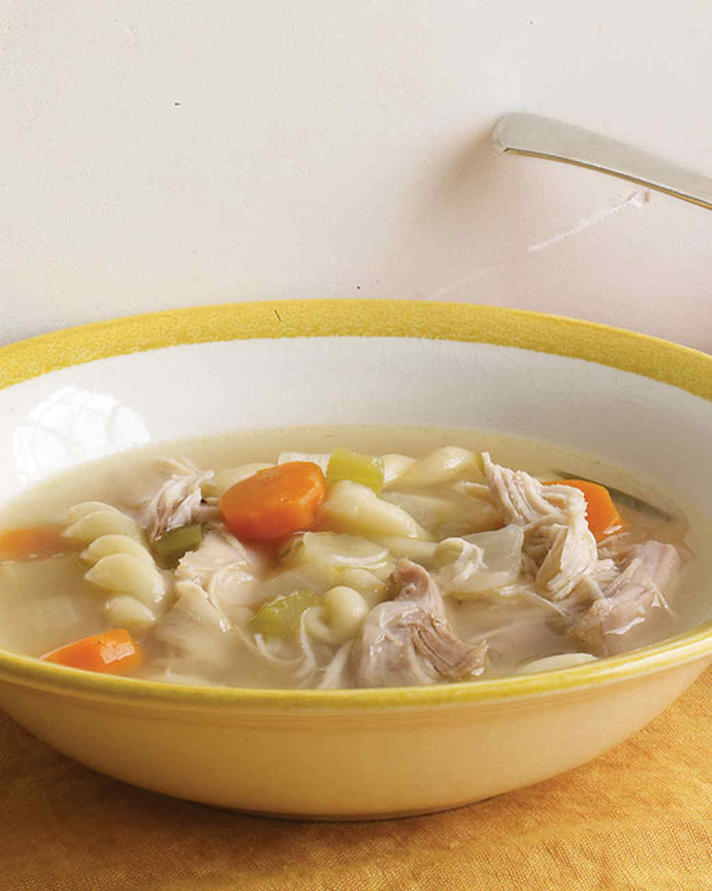 Turkey Noodle Soup Recipe Martha Stewart