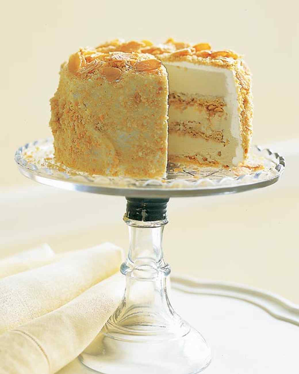 Almond Sponge Cake Recipe Martha Stewart