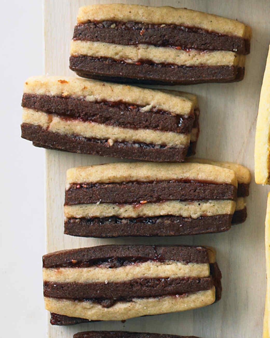 Chocolate-Pecan Layered Icebox Cookies Recipe | Martha Stewart