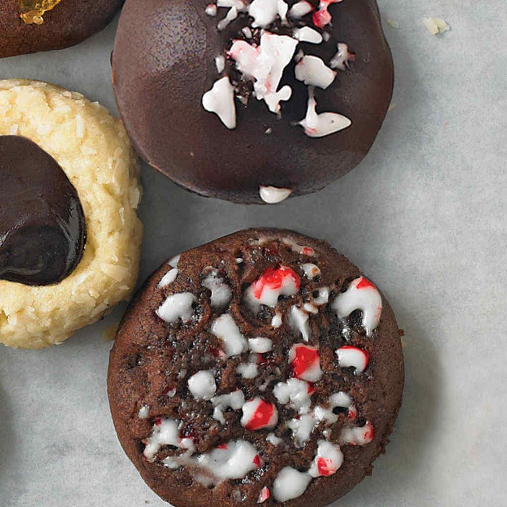 Peppermint Ball Cookies