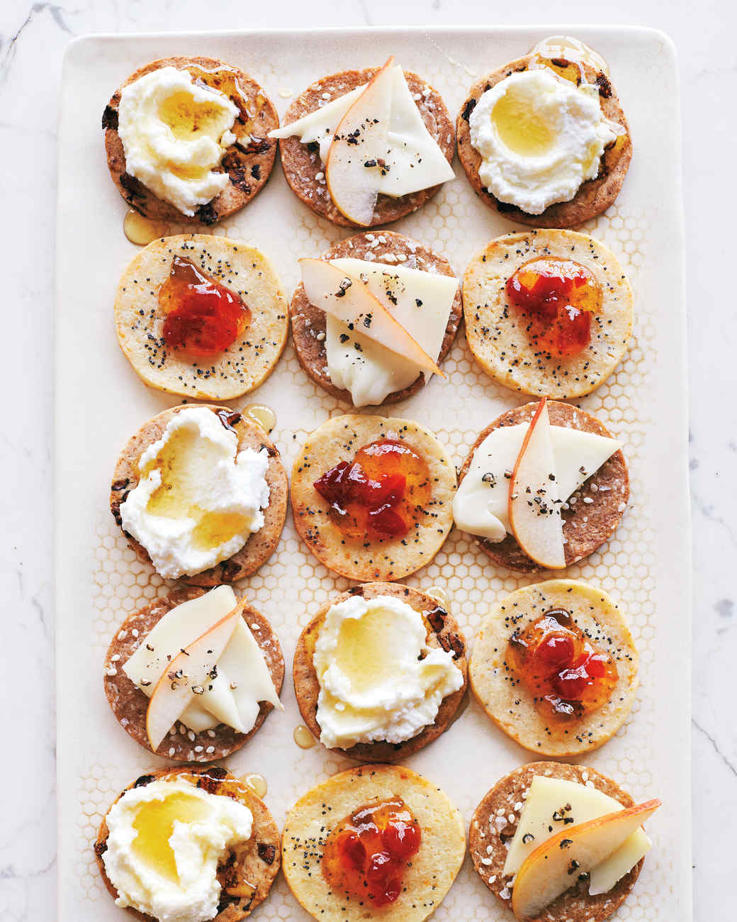 A sneak peek of martha stewart 39 s appetizers martha stewart for Gluten free canape ideas