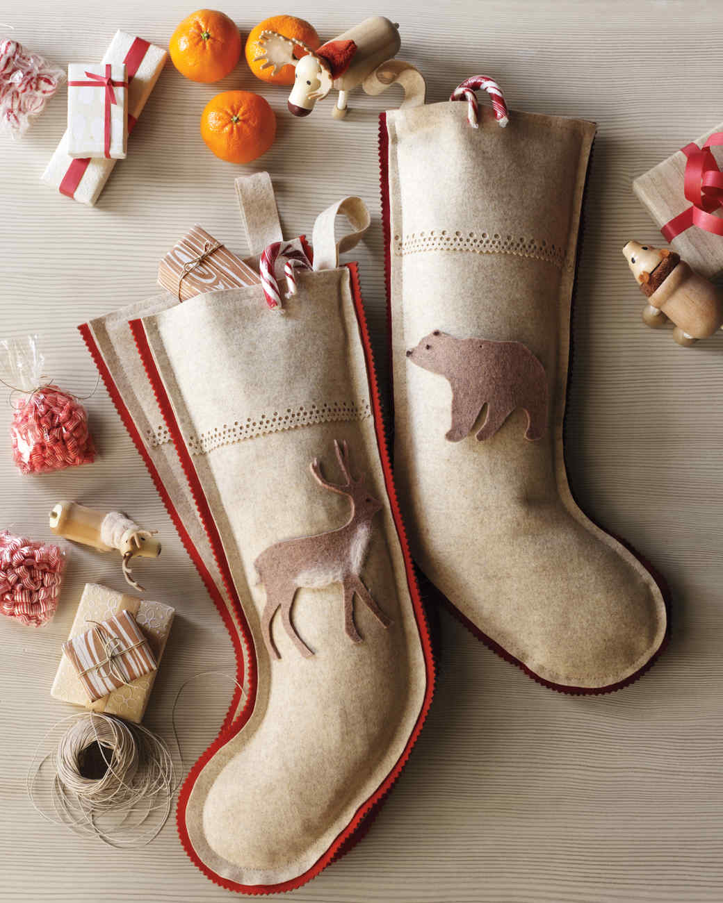 wool woodlands stocking