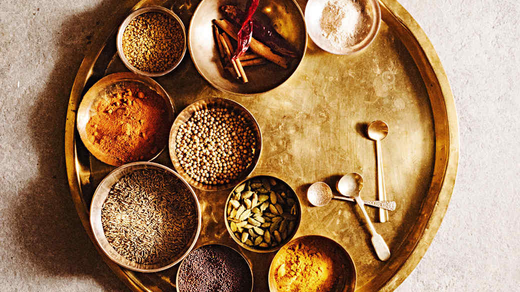 indian spices unlabeled