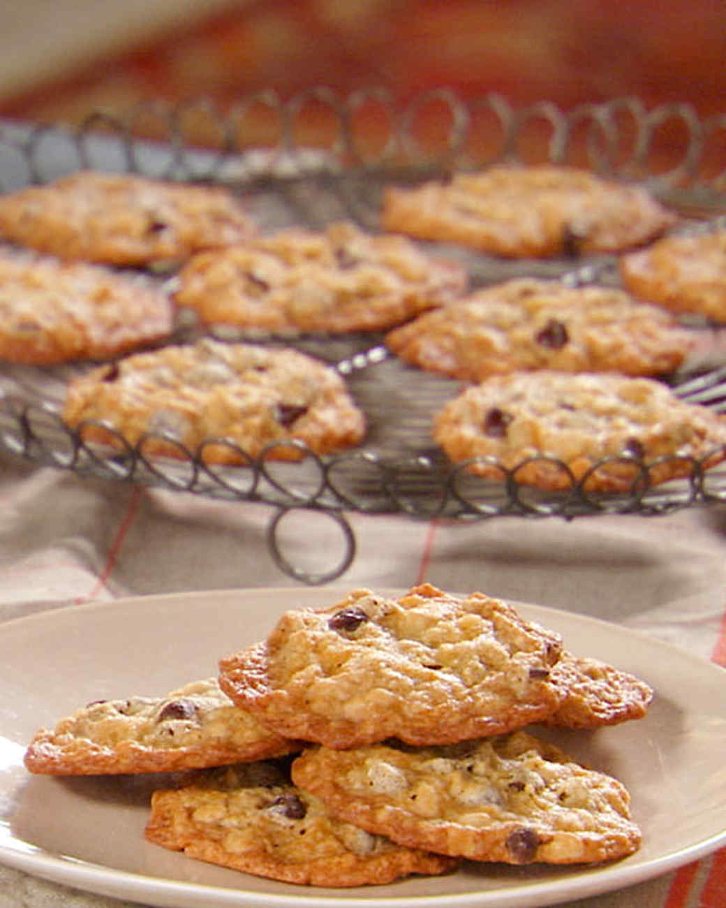 Oatmeal Chocolate Chip Cookie Recipe & Video | Martha Stewart
