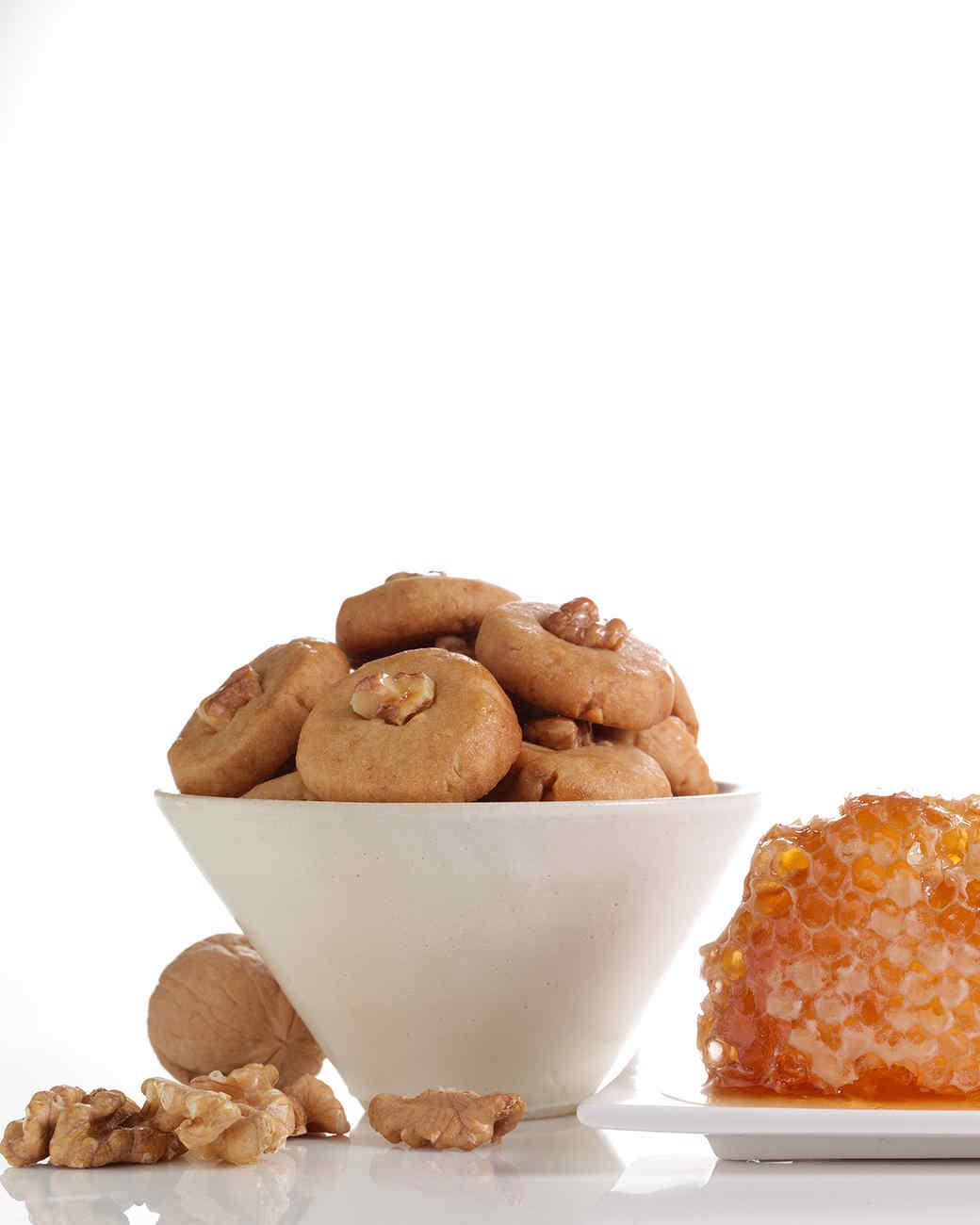 Honey-Walnut Coins