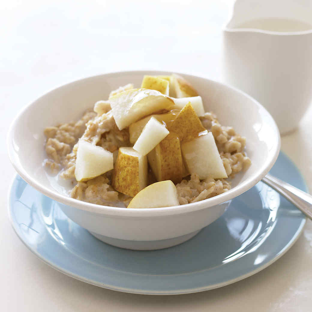 Pear and Honey Oatmeal
