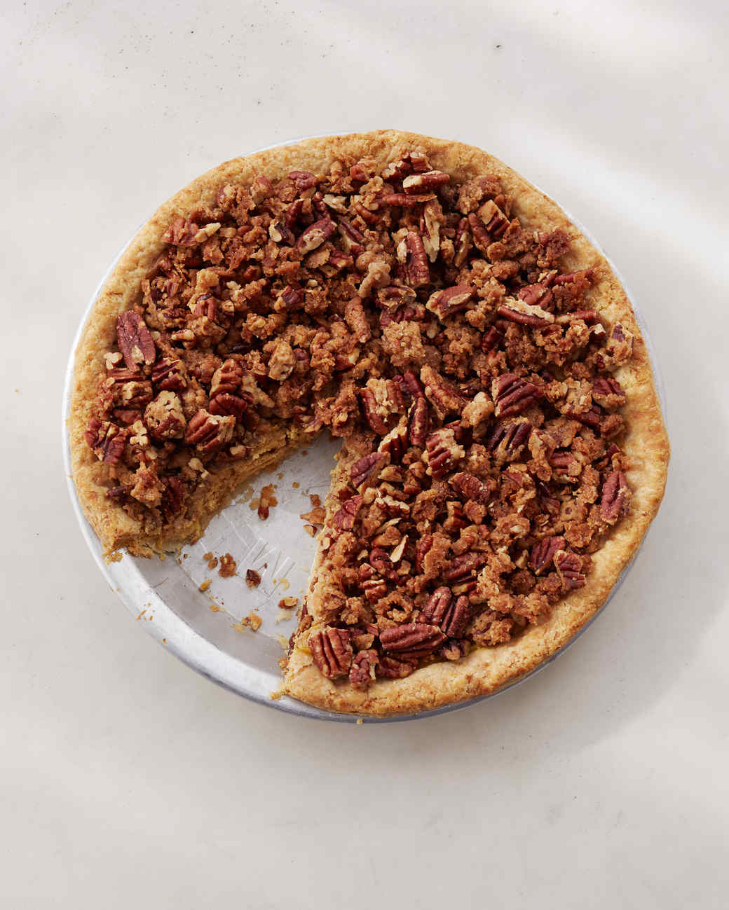 Pumpkin Crunch Pie
