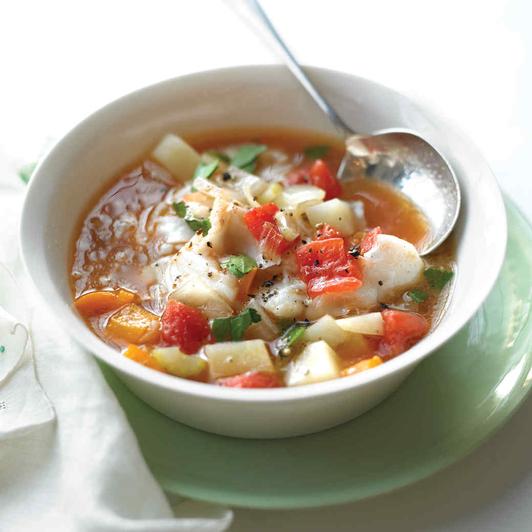 Quick Fish Chowder