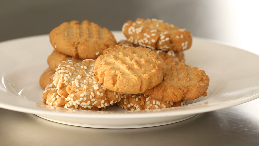 Light and Flavorful Tahini Cookies