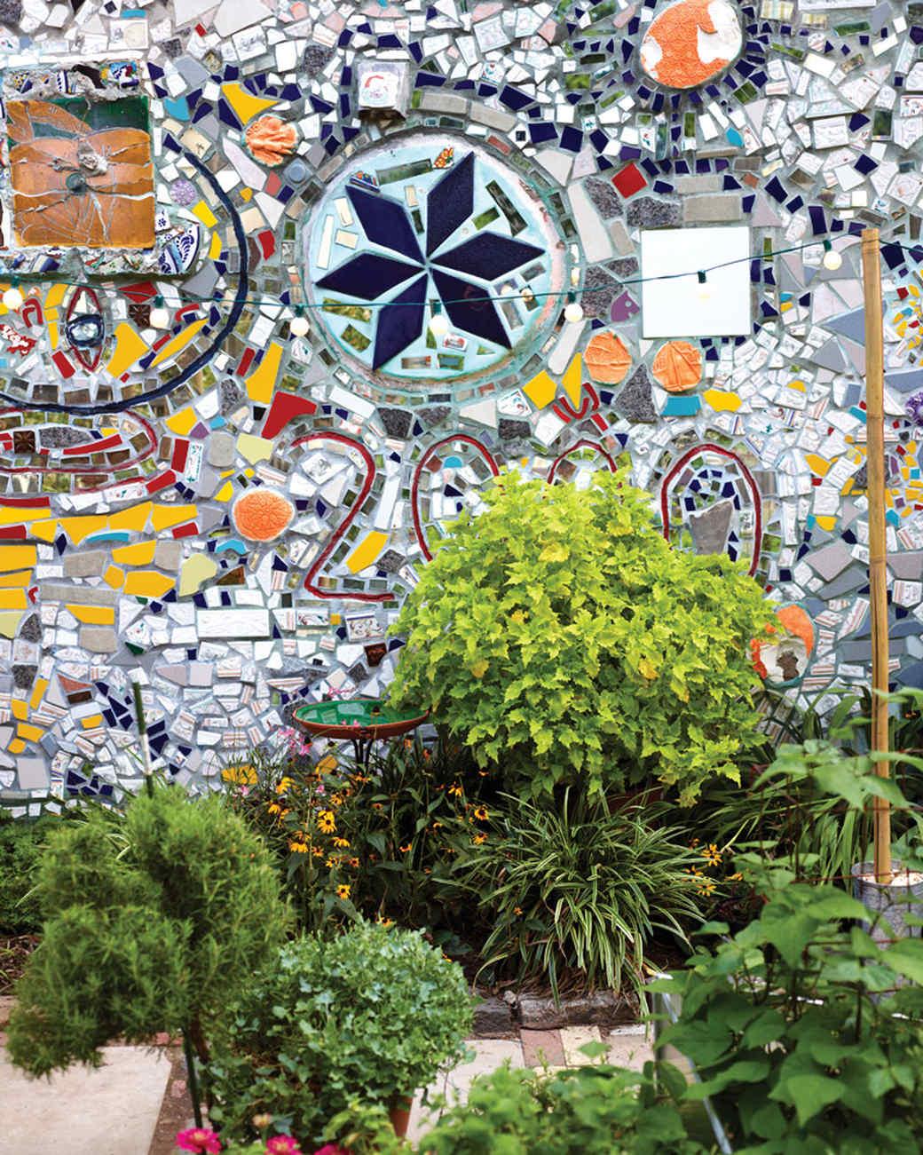 Community Garden Potluck Party Martha Stewart