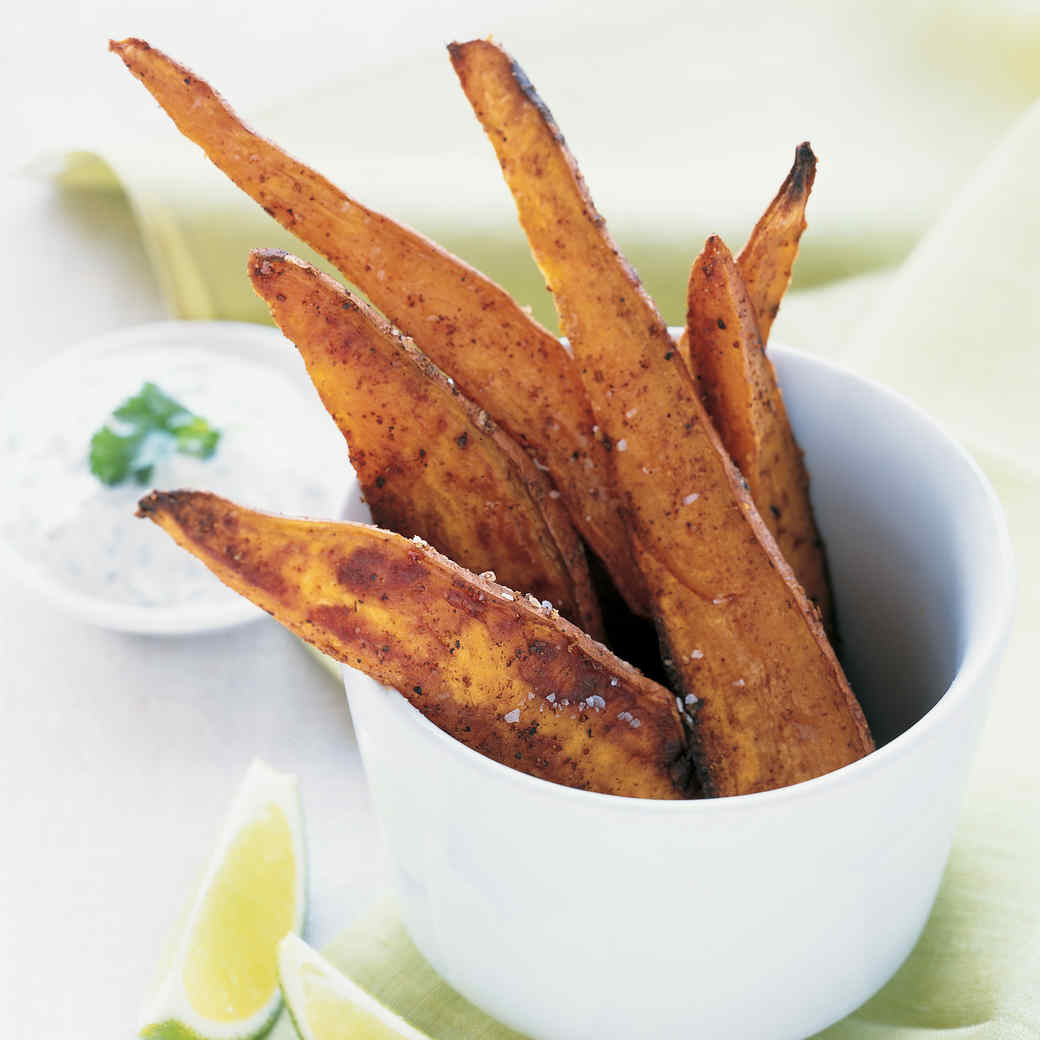 Spicy Sweet Potatoes with Lime