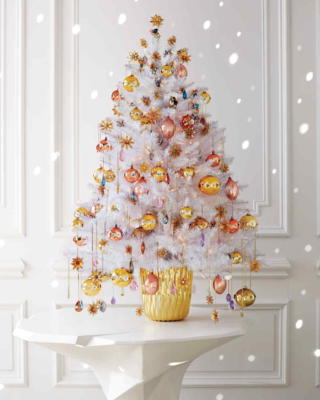 Enchanted Forest Christmas Tree Ideas by Martha Stewart Living