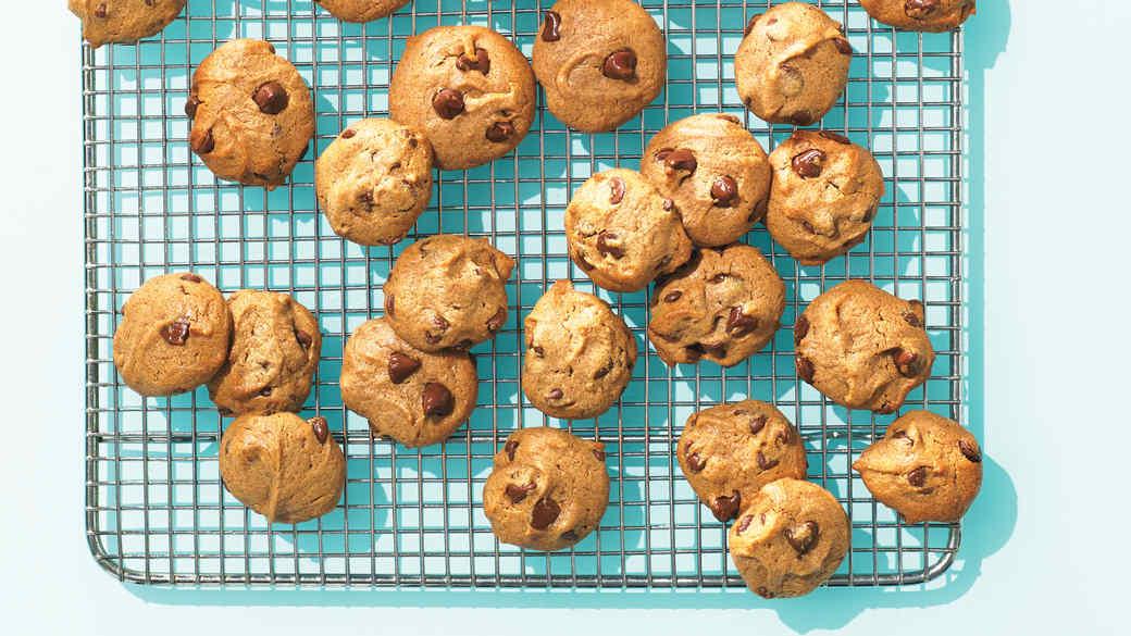 Five-Ingredient Chocolate Chip Cookies