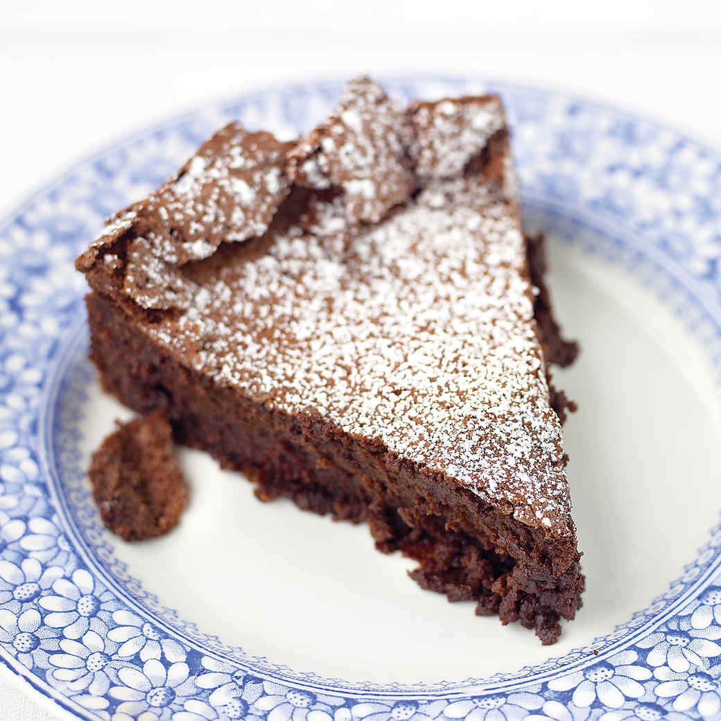 Flourless Fudge Cake