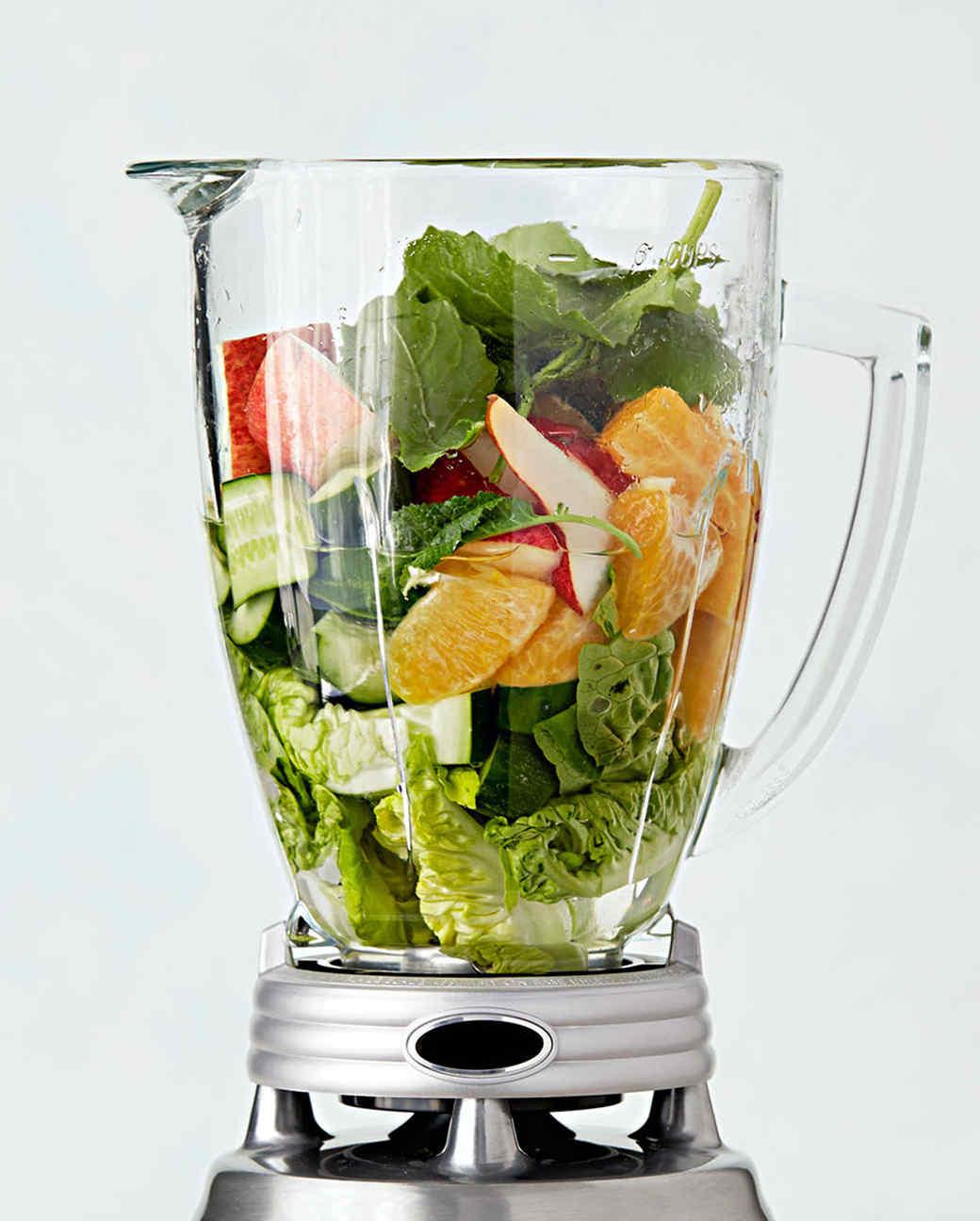 fruit vegetables blender