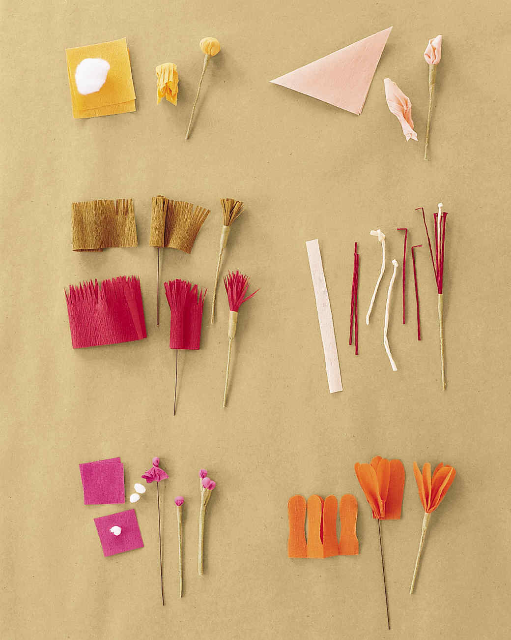 Цветы из бумаги своими руками для начинающих из крепированной бумаги