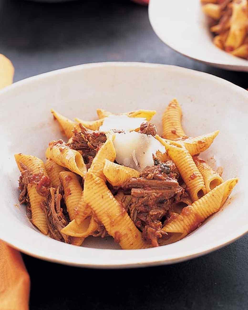 Beef Ragu with Pasta Recipe Martha Stewart