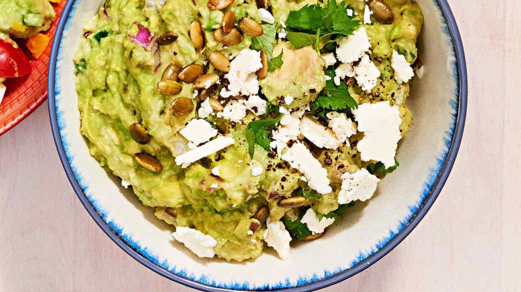 modern mex guacamole