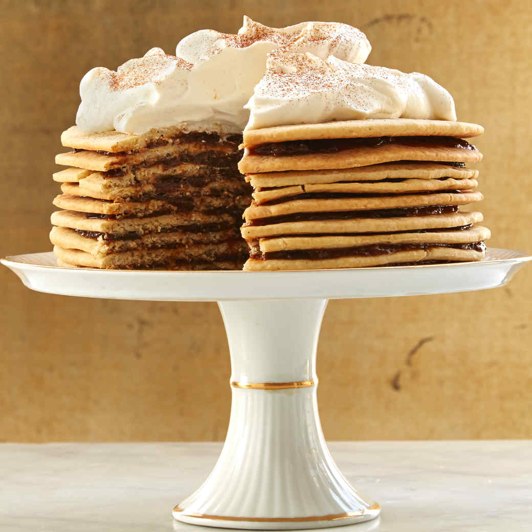 Dried-Plum-Butter Stack Cake