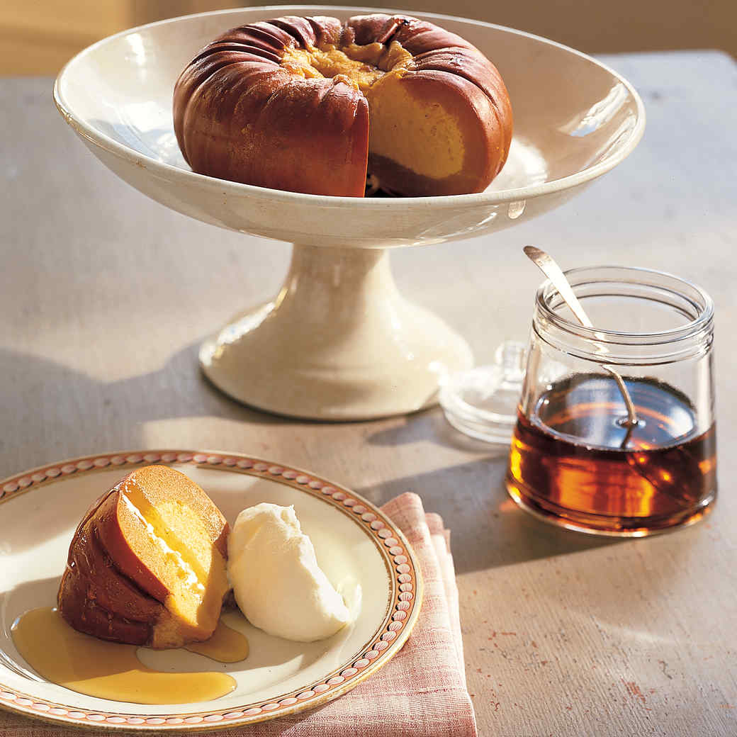 Sweet Pumpkin Maple Custard
