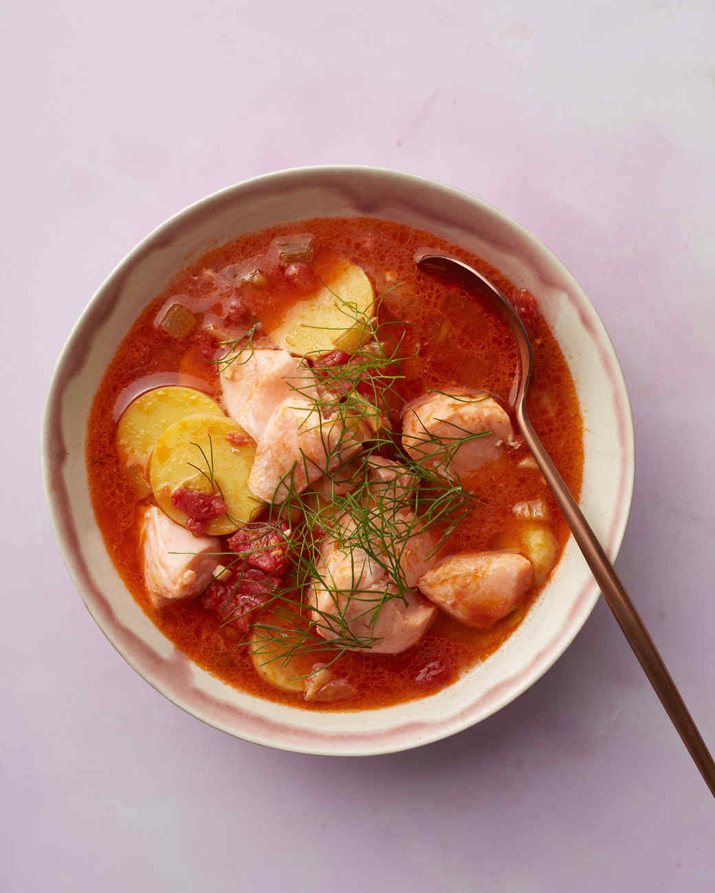 Smoky Salmon-and-Potato Stew