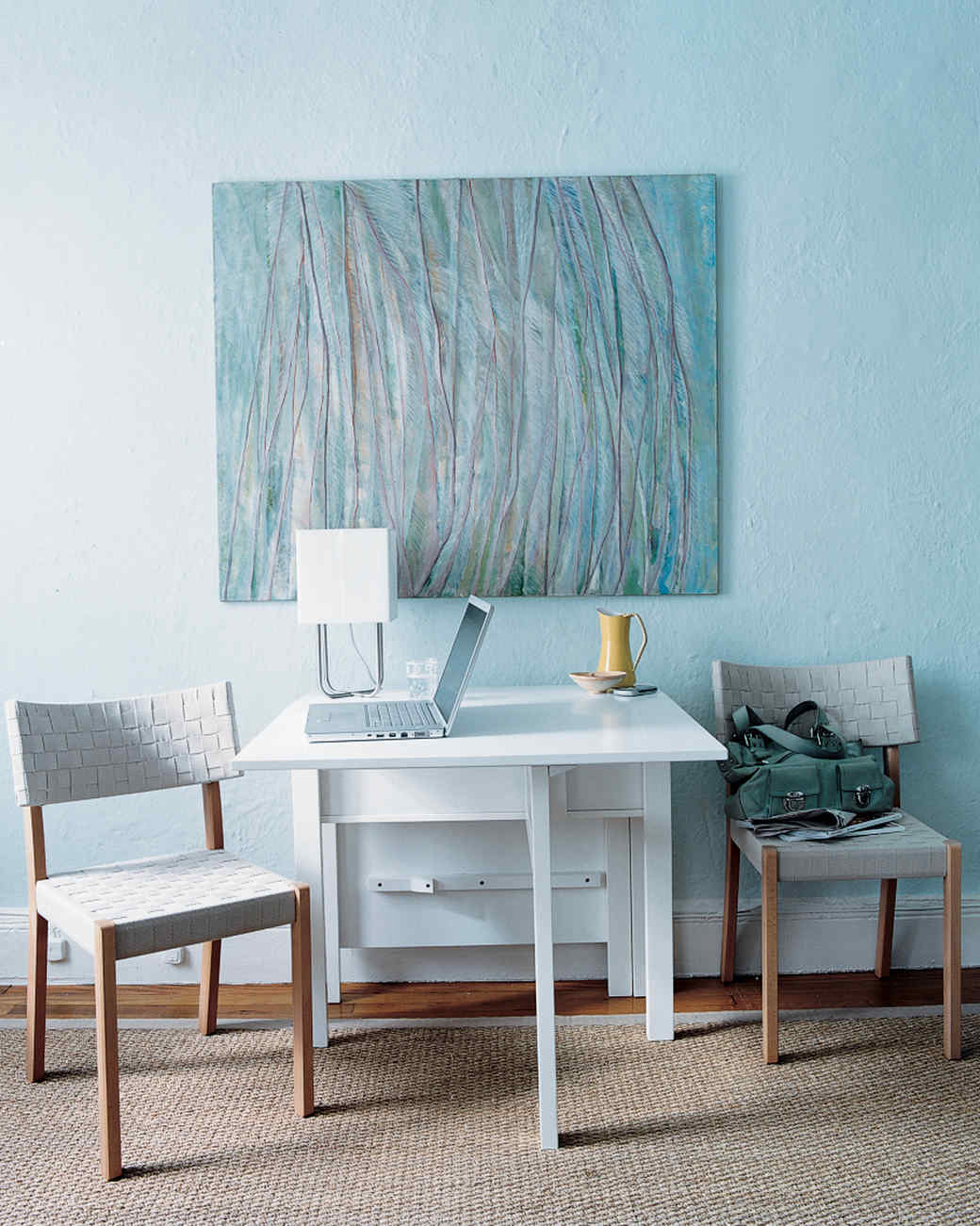 Small Side Table For Nursery - Small space living see how this teensy apartment was totally transformed martha stewart