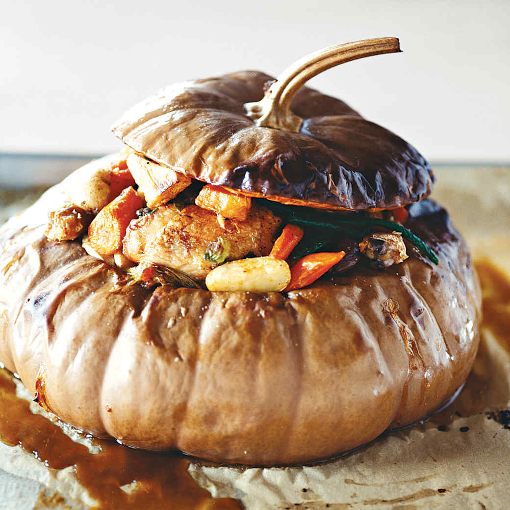 Stuffed Pumpkin Stew