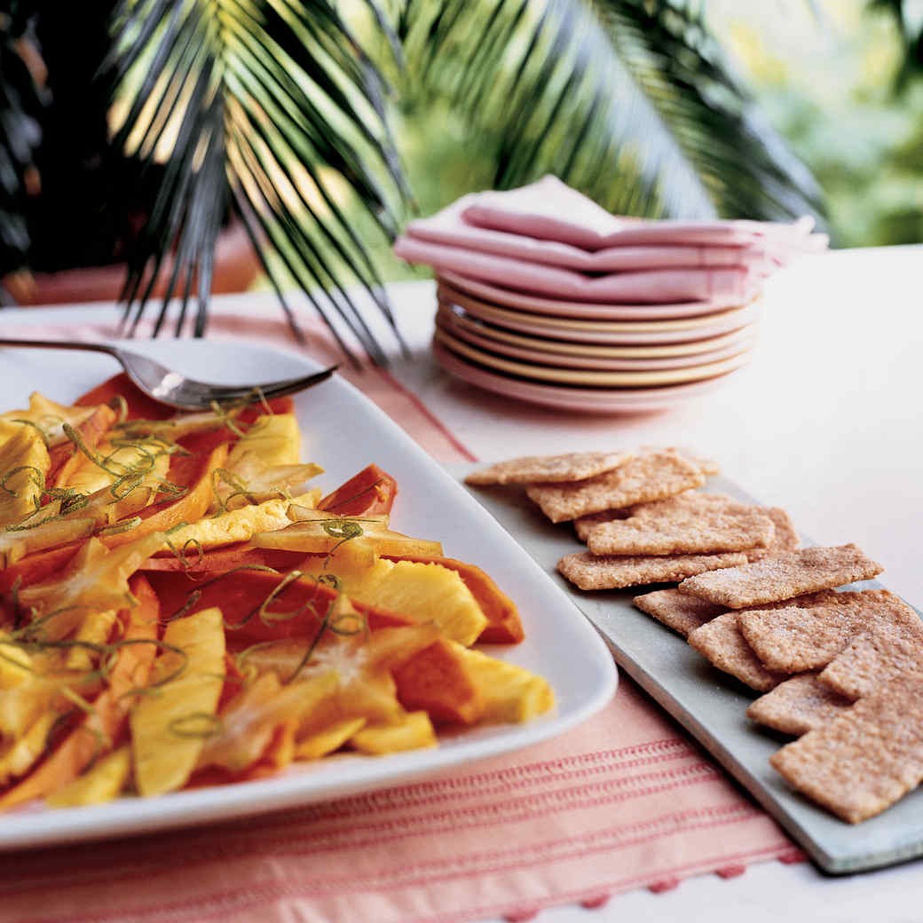 Layered Tropical Fruit Salad