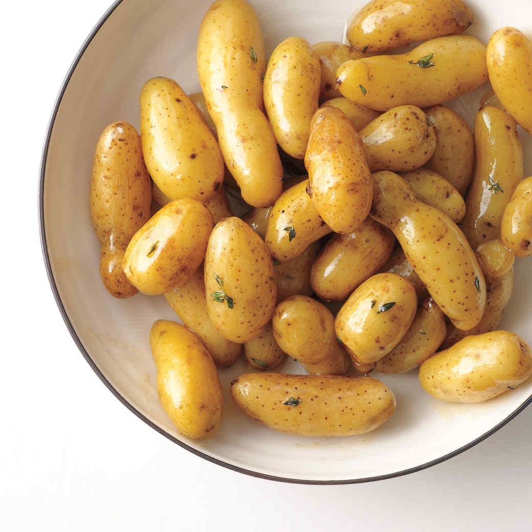 Glazed Fingerling Potatoes