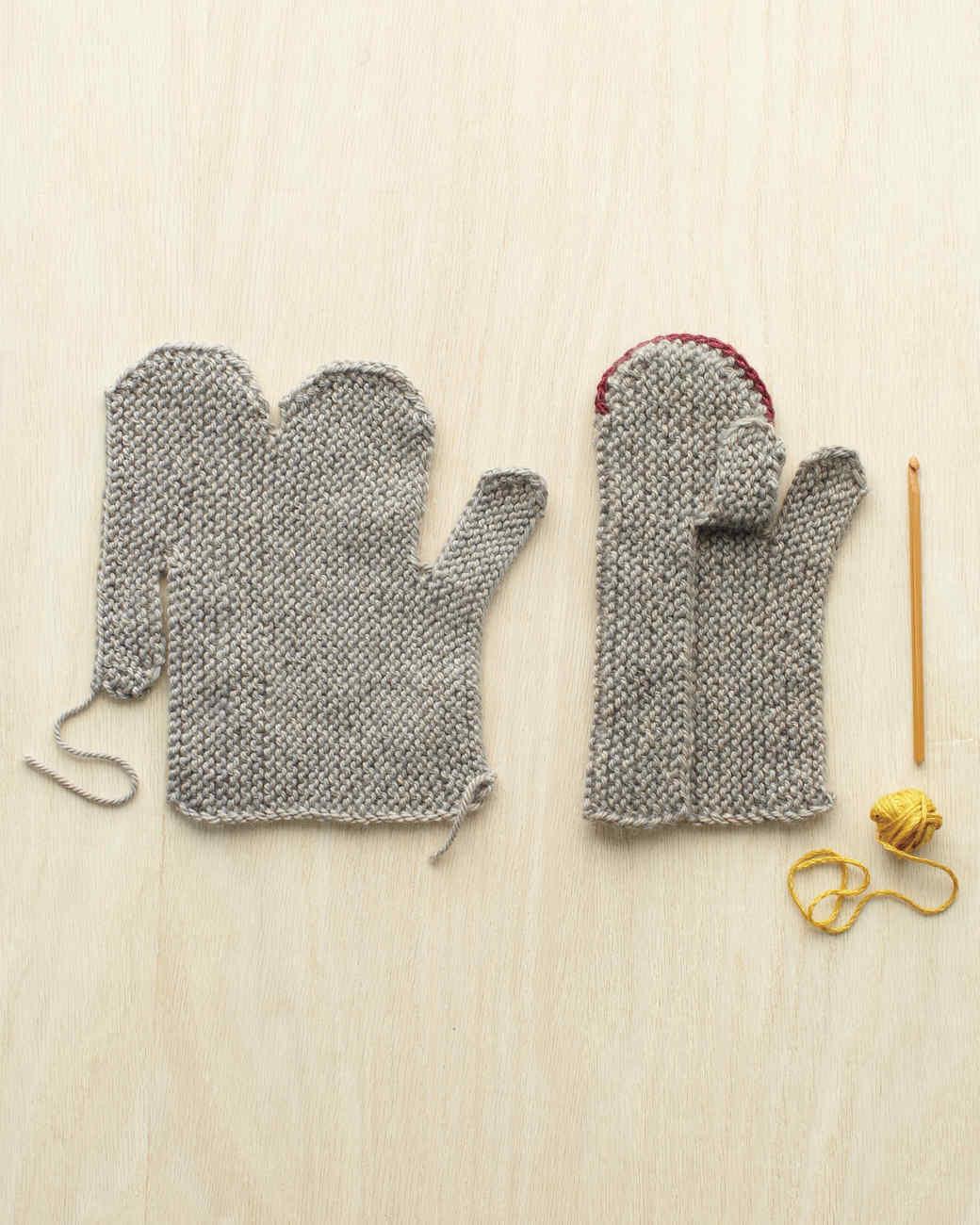 Martha Stewart Knitting Patterns : Cozy Mittens Martha Stewart
