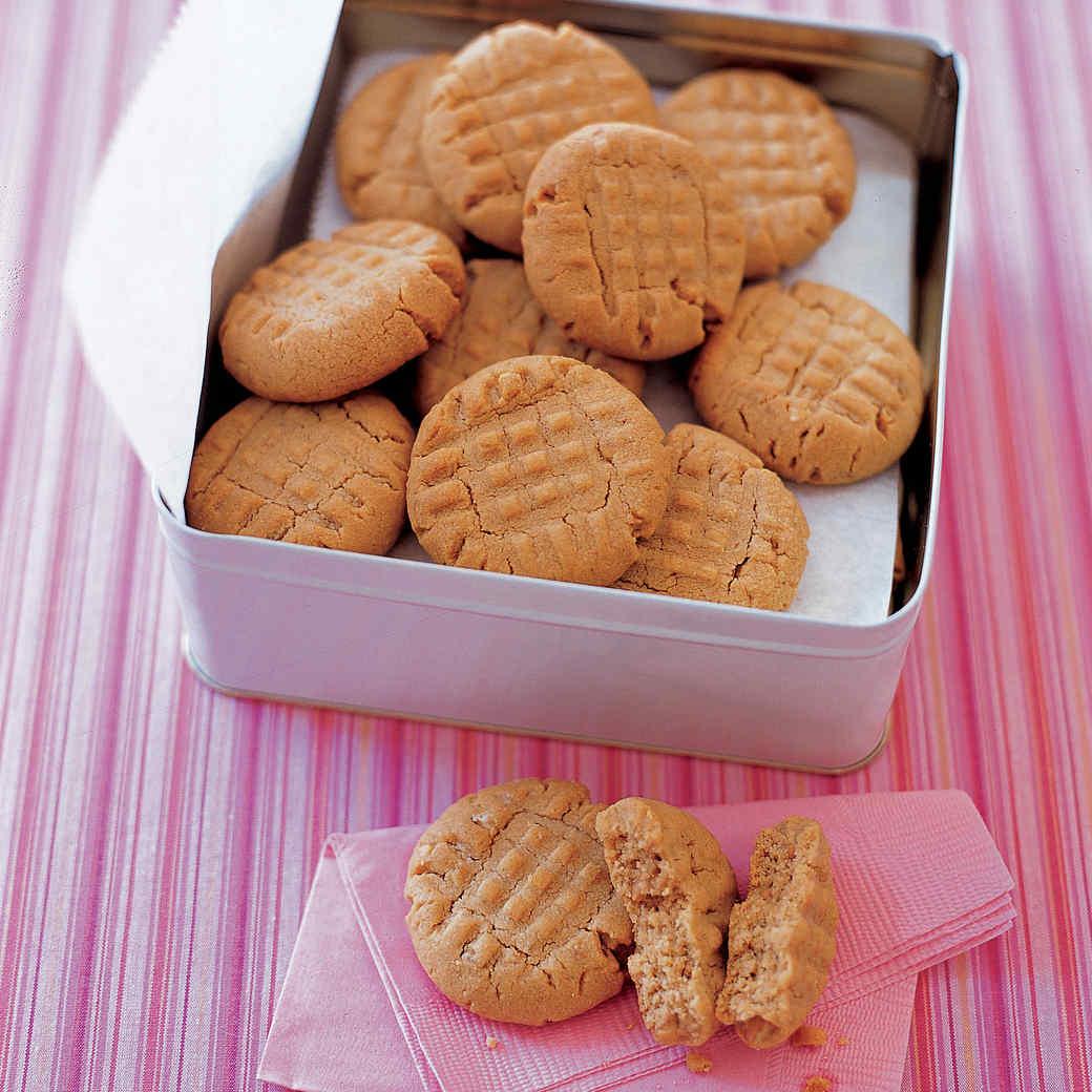 Crunchy Peanut-Butter Cookies