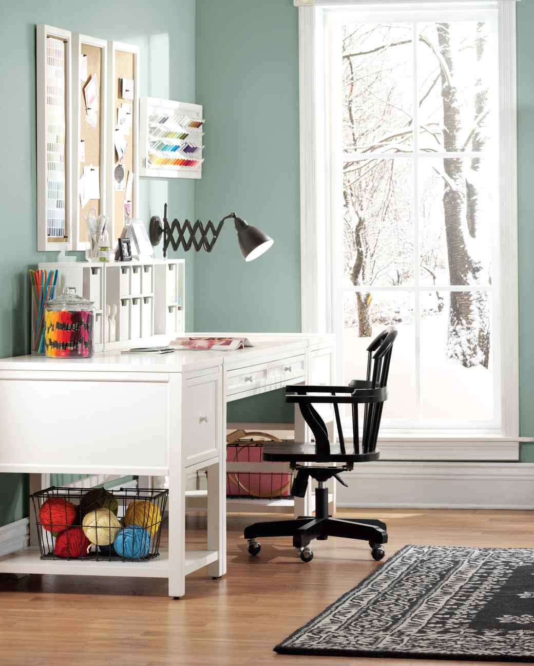 how to design the ultimate craft room | martha stewart
