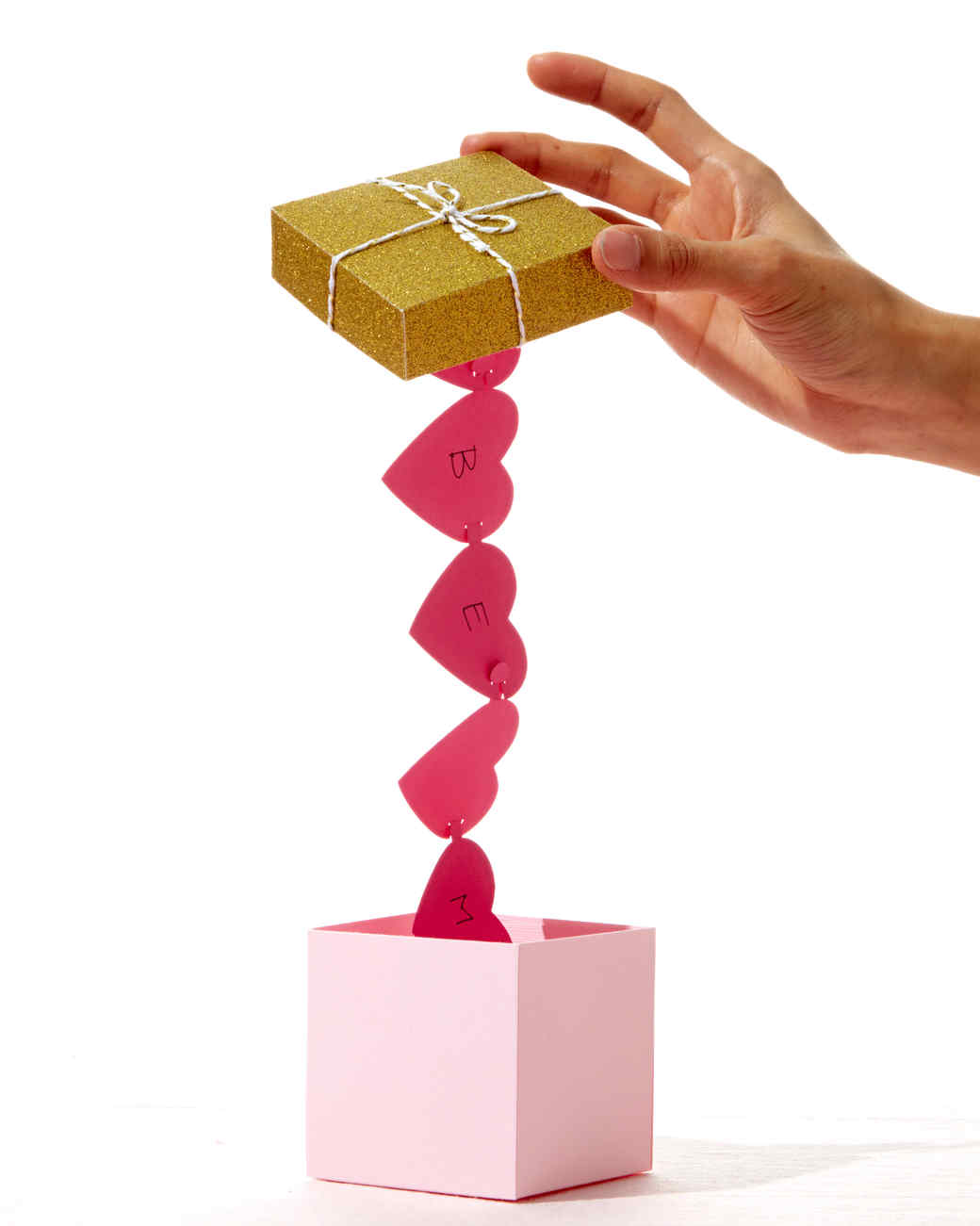 Secret Message Valentine's Day Boxes