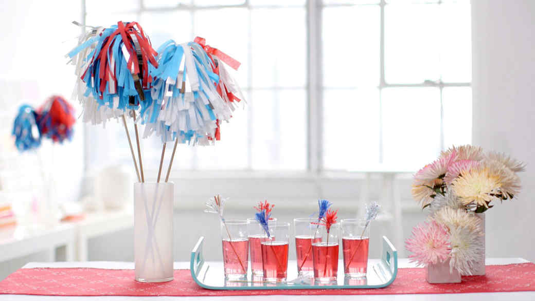 3 Sparkler Inspired Party Decorations
