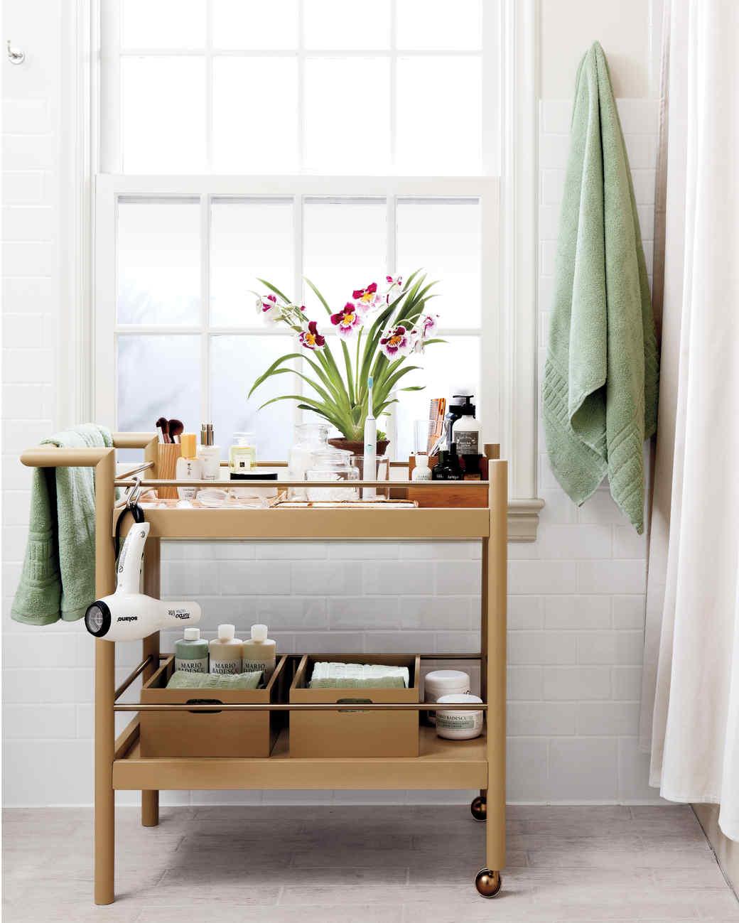 Storage ideas for bathroom