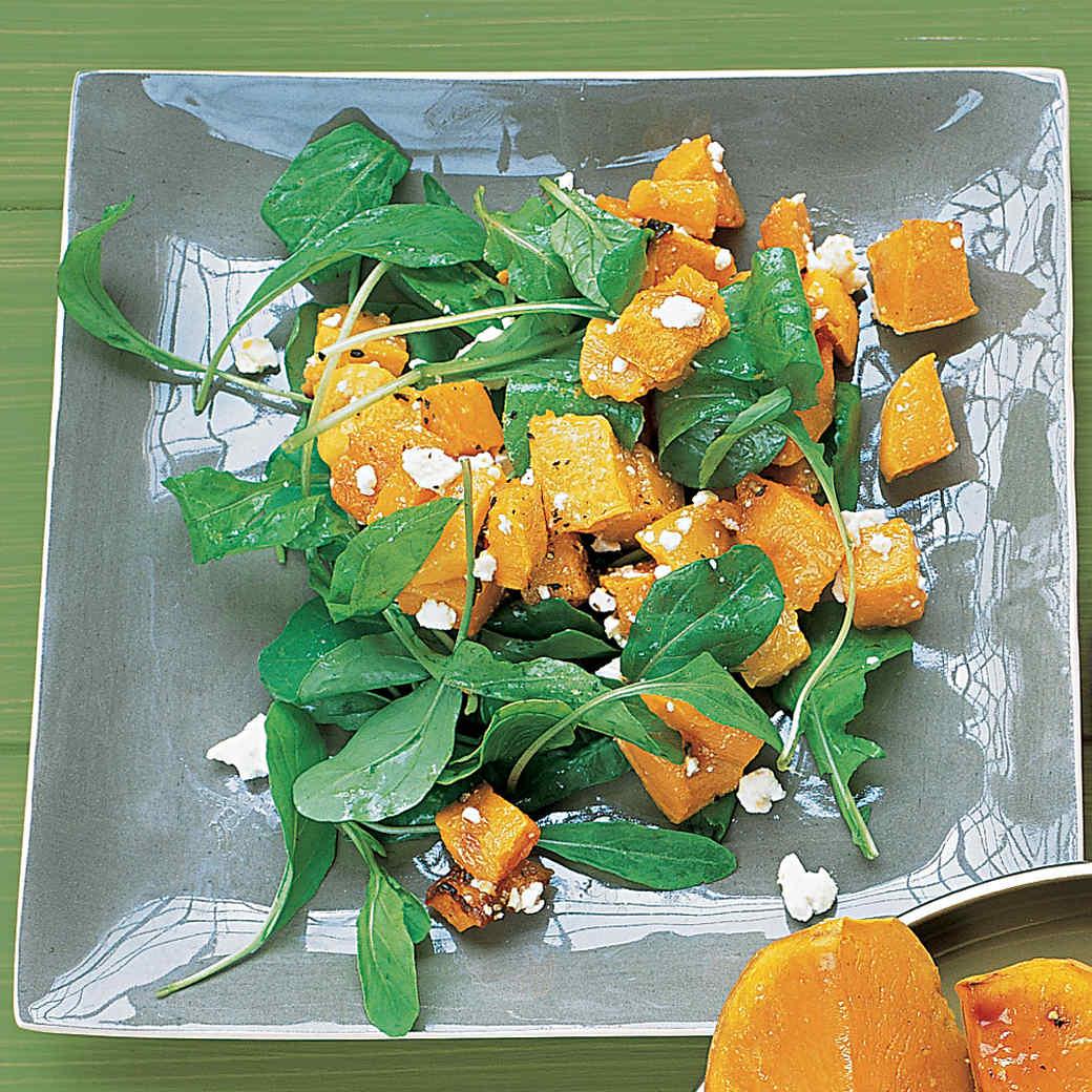 Butternut Squash, Feta, and Arugula Salad