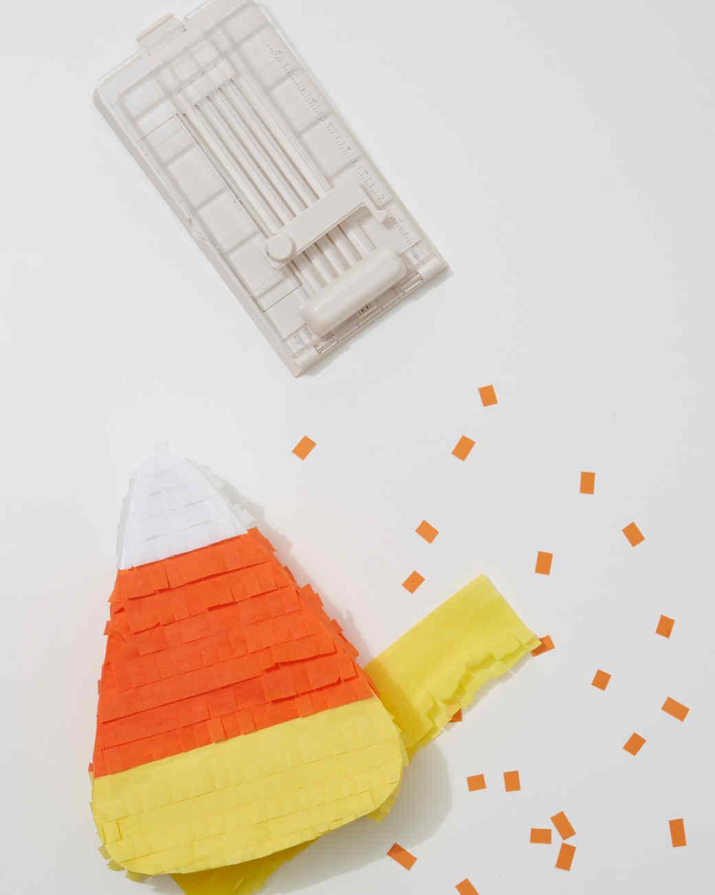 Giant Candy-Corn Fringe Piñata