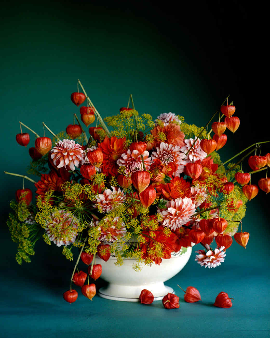 Pics Of Flower Arrangements fall flower arrangements | martha stewart