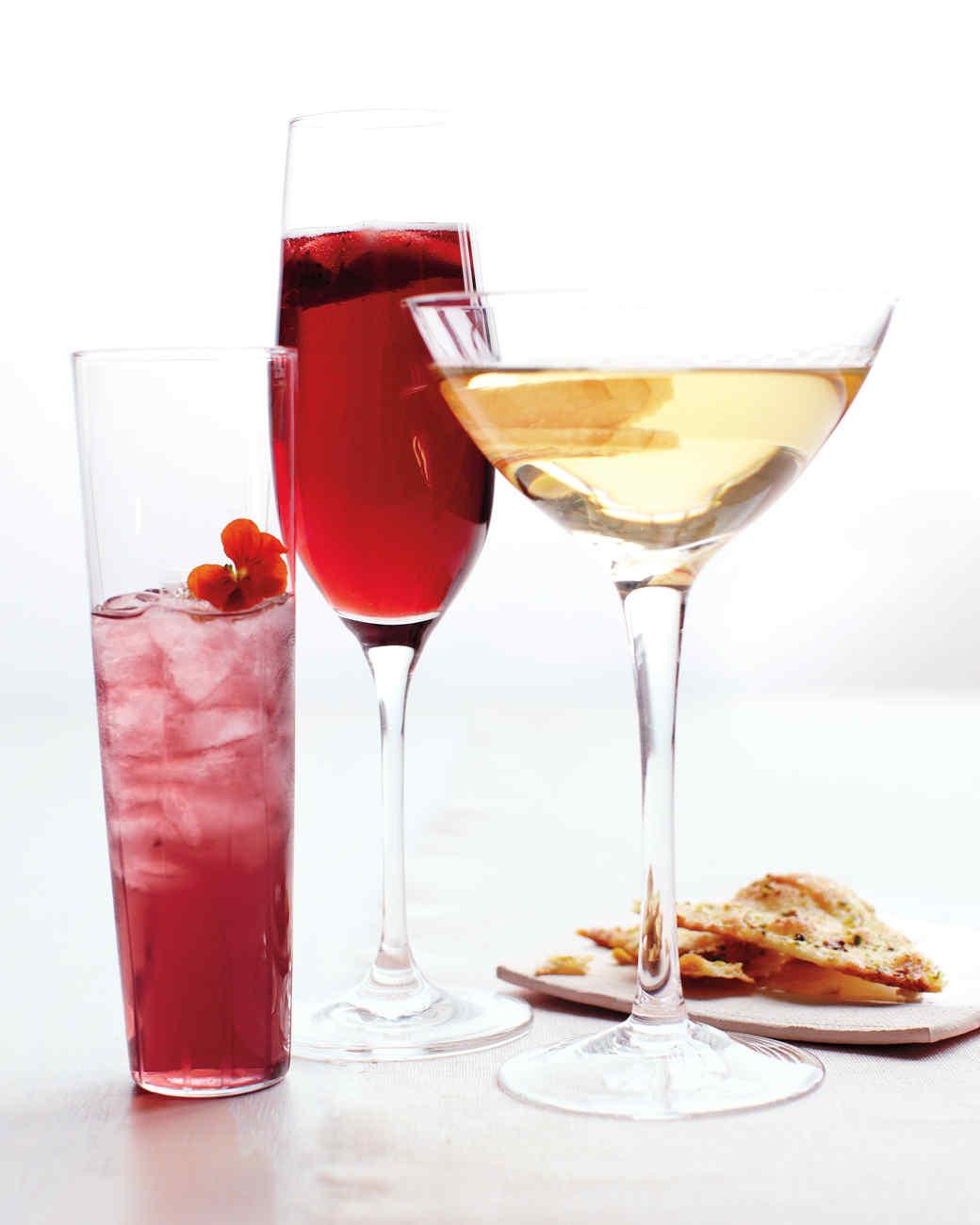 Violet Liqueur Drink Recipes