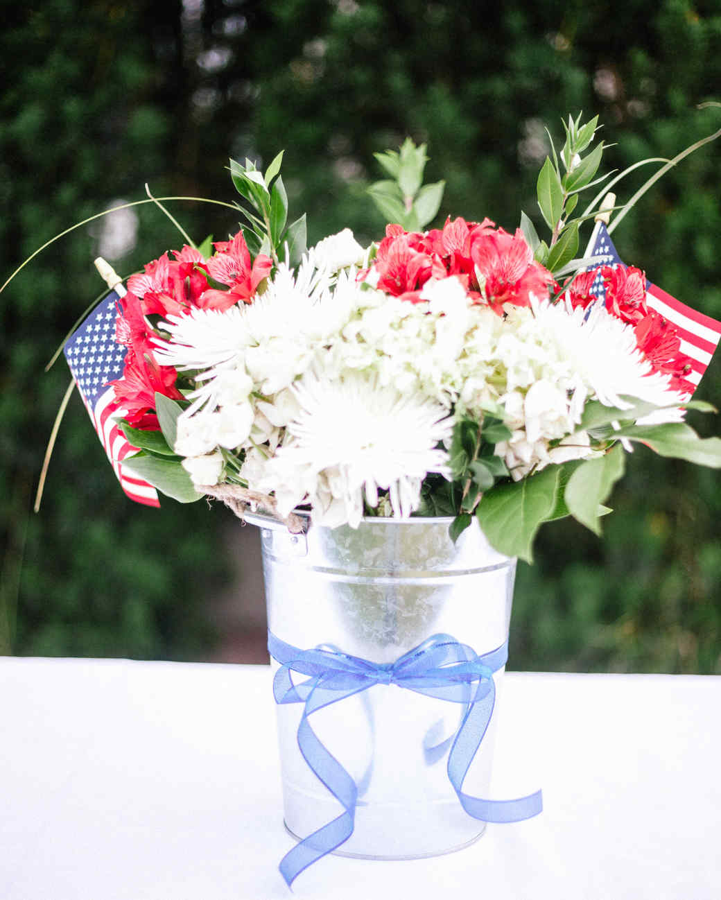 Fourth of July Flower Arrangement